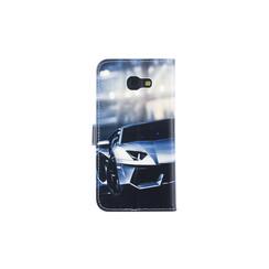 Samsung Galaxy A5 (2017) Pasjeshouder Print Booktype hoesje - Magneetsluiting - Kunststof;TPU