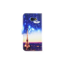 Samsung Galaxy A5 (2017) Titulaire de la carte Print Book type housse - Fermeture magnétique