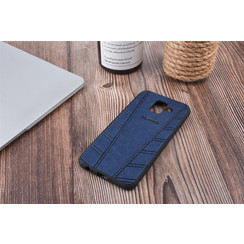 Backcover voor Galaxy A6 (2018) - Blauw