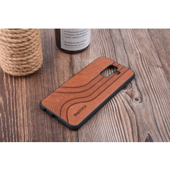 Back cover for Galaxy A6 Plus (2018) - Brown