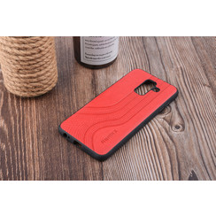 Backcover voor Galaxy A6 Plus (2018) - Rood