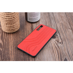 Backcover voor Galaxy A7 (2018) - Rood