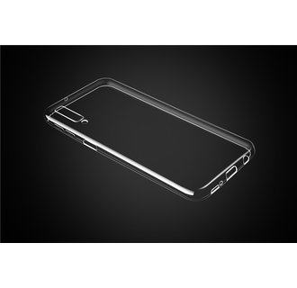 Backcover voor Galaxy A7 (2018) - Transparant