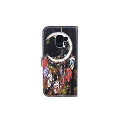 Samsung Galaxy A8 (2018) Titulaire de la carte Print Book type housse - Fermeture magnétique