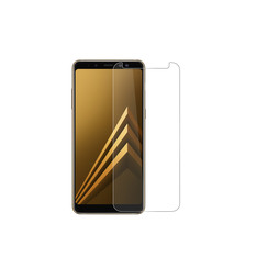 Screenprotector voor Samsung Galaxy A8 Plus (2018) - Transparant