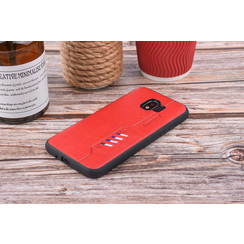 Back cover for Galaxy J2 Pro - Red