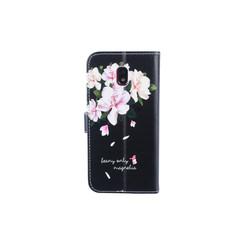 Samsung Galaxy J3 (2017) Pasjeshouder Print Booktype hoesje - Magneetsluiting - Kunststof;TPU