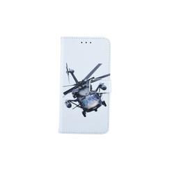 Samsung Galaxy J4 (2018) Titulaire de la carte Print Book type housse - Fermeture magnétique