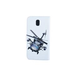 Samsung Galaxy J5 (2017) Pasjeshouder Print Booktype hoesje - Magneetsluiting - Kunststof;TPU