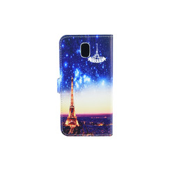 Samsung Galaxy J5 (2017) Card holder Print Book type case for Galaxy J5 (2017) Magnetic closure