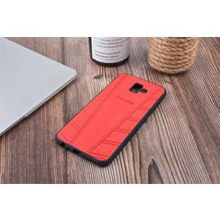 Coque pour Galaxy J6 Plus - Rouge