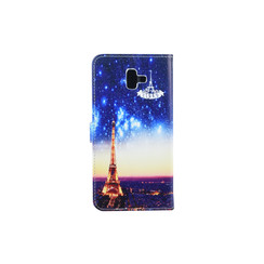 Samsung Galaxy J6+ (2018) Card holder Print Book type case for Galaxy J6+ (2018) Magnetic closure