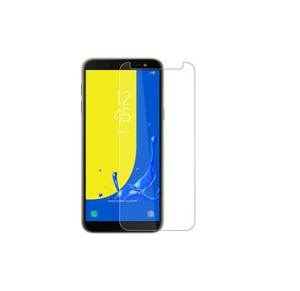 Screenprotector voor Samsung Galaxy J6 Plus - Transparant