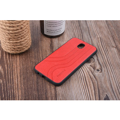 Backcover voor Galaxy J7 (2017) - Rood