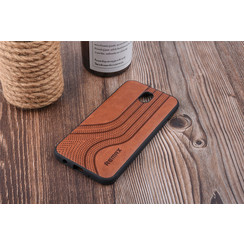 Back cover for Galaxy J7 (2017) - Brown