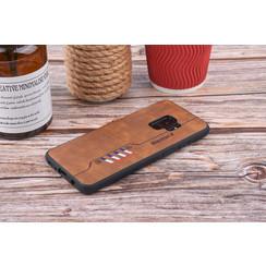 Backcover voor Galaxy S9  - Bruin
