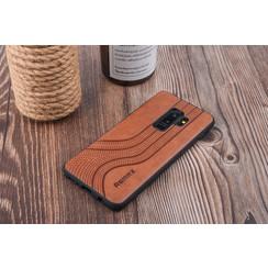 Backcover voor Galaxy S9 Plus - Bruin