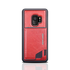 Pierre Cardin silicone backcover voor Galaxy S9 - Rood (8719273146002)