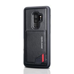 Pierre Cardin silicone backcover voor Galaxy S9 Plus - Zwart (8719273146026)