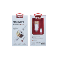 Car charger for Micro 1 USB - (EU Garantie) White