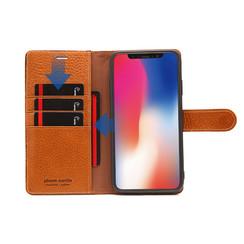 Pierre Cardin Housse pour iPhone XR - Marron