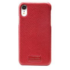 Pierre Cardin silicon coque pour iPhone XR - Rouge