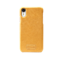 Pierre Cardin back cover for iPhone XR - Yellow
