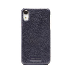 Pierre Cardin back cover for iPhone XR - Sapphire Blue