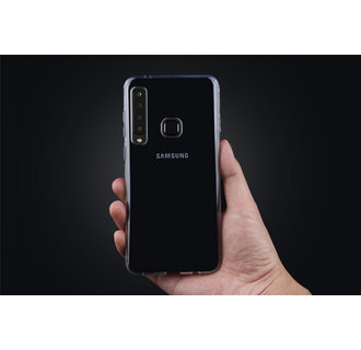 Backcover voor Galaxy A9 (2018) - Transparant