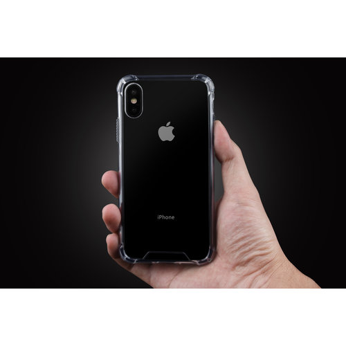 Andere merken Back cover voor Apple iPhone X-Xs - Transparant