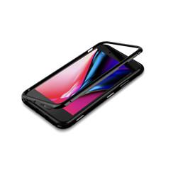 Backcover voor Apple iPhone 7-8 Plus - Zwart