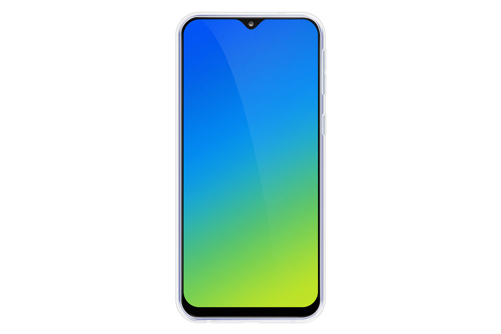 Huismerk Back cover for Galaxy A30 - Transparent