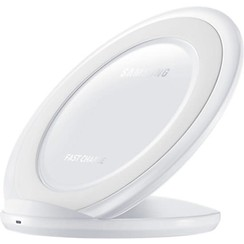 Fast Wireless Stand Charger - White