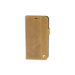 Pierre Cardin book case for iPhone XR - Brown