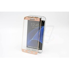 Screenprotector pour Galaxy S7 Edge - Rose Or