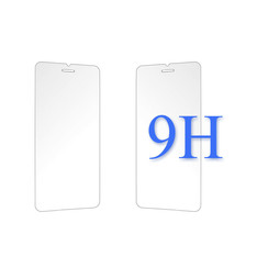 Smartphone screenprotector for Phone 5 - Transparent