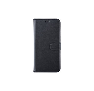 Samsung Galaxy A30 Pasjeshouder Zwart Booktype hoesje - Magneetsluiting - Kunststof;TPU
