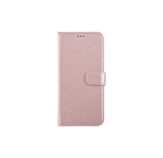 Samsung Galaxy A30 Pasjeshouder Roze Booktype hoesje - Magneetsluiting - Kunststof;TPU