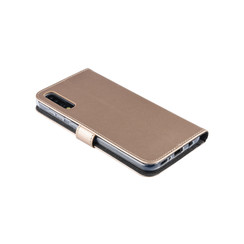 Samsung Galaxy A50 Card holder Gold Book type case for Galaxy A50 Magnetic closure