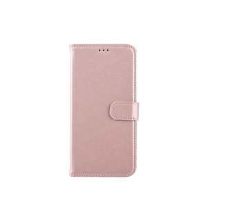 Samsung Galaxy A20 Card holder Pink Book type case for Galaxy A20 Magnetic closure
