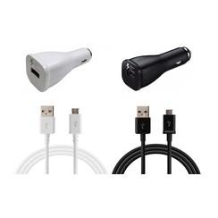 Samsung Autolater Micro USB - White