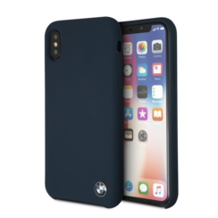BMW back cover pour iPhone X-Xs - Navy