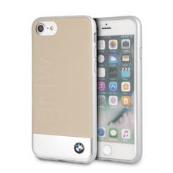 BMW back cover pour iPhone 7-8 - Beige
