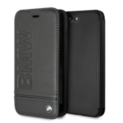BMW book case for iPhone 7-8 Plus - Black