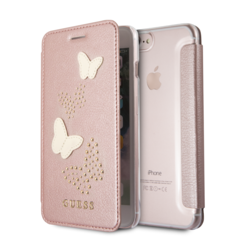 Guess book case for iPhone 7-8 Plus - Gold