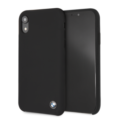 BMW back cover pour iPhone XR - Noir