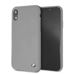 BMW back cover pour iPhone XR - Gris