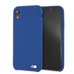 BMW back cover pour iPhone XR - Navy