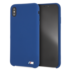 BMW back cover pour iPhone Xs Max - Navy