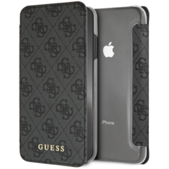 Guess book case for iPhone Xs Max - Grey